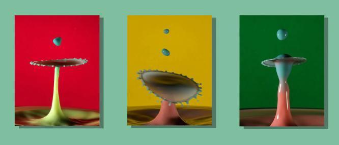 Milk Splashes - Robert Farrow