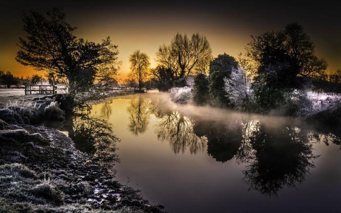 Winter Sunrise - Peter R Howard