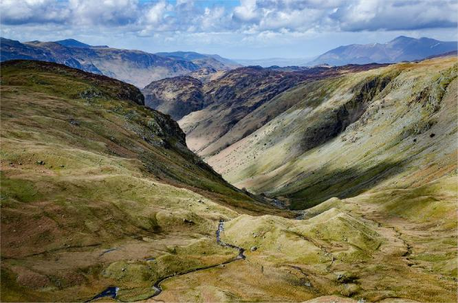 Looking North-West from Greenup Edge in the Lake District - Chris Poole