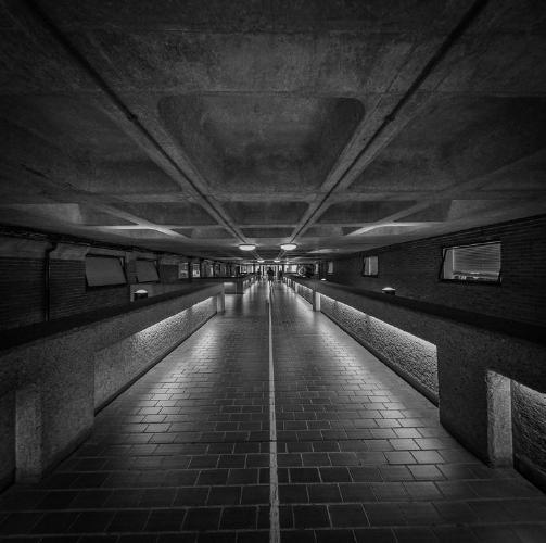 Barbican Walkway - Jeff Scott
