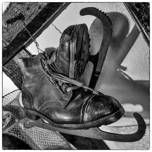 Old Ice Skates - Tony Bramley