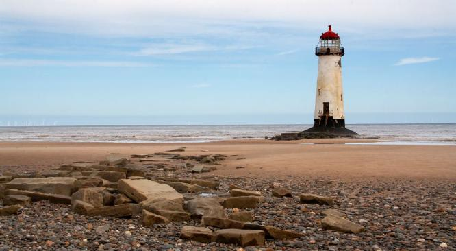 Talacre Lighthouse - Anne Aldred