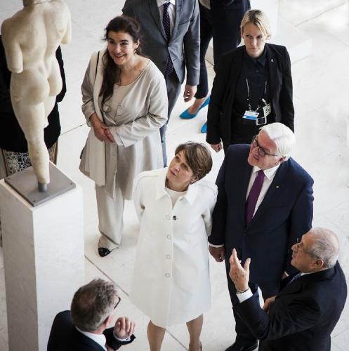 A Day in the Life of President Steinmeier Staring at Bottoms - Steve Ball