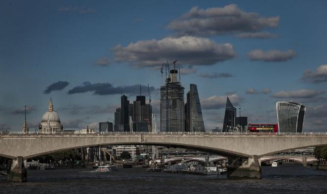 London Bus on Waterloo Bridge - Steve Ball