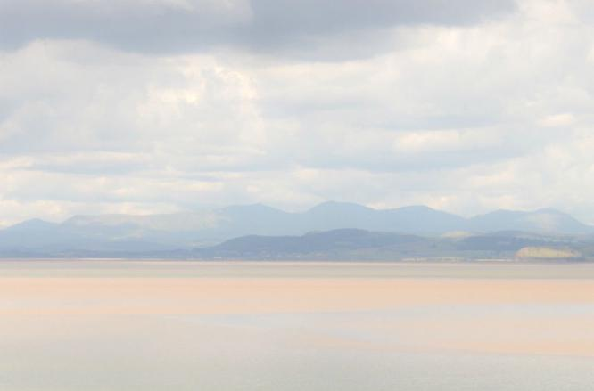 Towards the Cumbrian Fells - Mary Battye