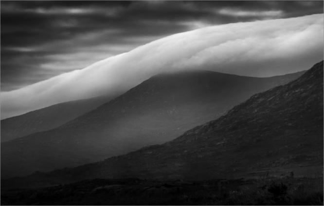 Cloudbank Mountains of Mourne - Colin Westgate