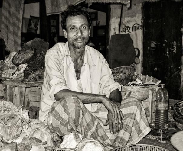 Vegetable Seller India - Amit Roy