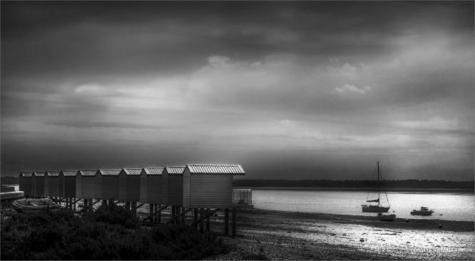 Osea Huts - Peter Howard