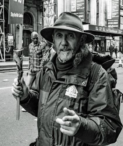 Protester - Dean Crosdale