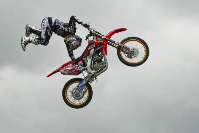 Motorcycle Acrobatics - Paul Douglas