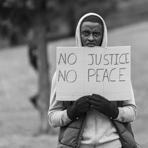 No Justice No Peace - Paul Douglas