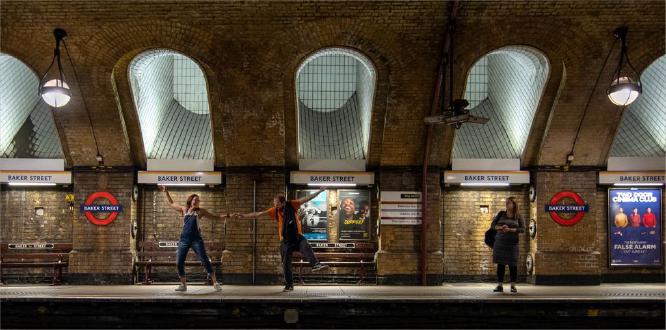Dancing Down Baker Street - Wendy Leech