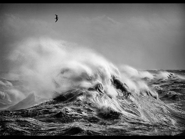 Stormy Sea - Chris Aldred