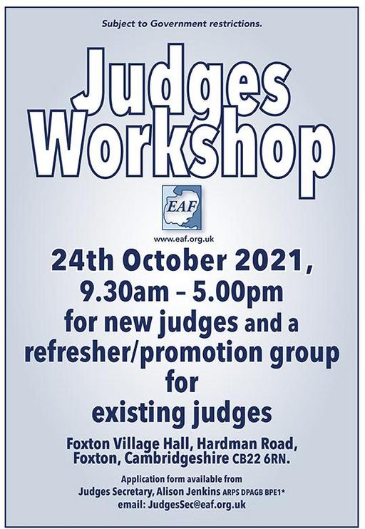 Judges Workshop