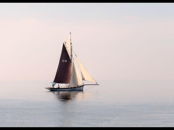 Early morning sail - Chris Aldred