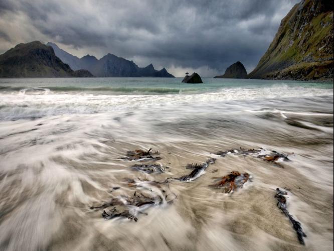 Haukland Beach - Chris Aldred