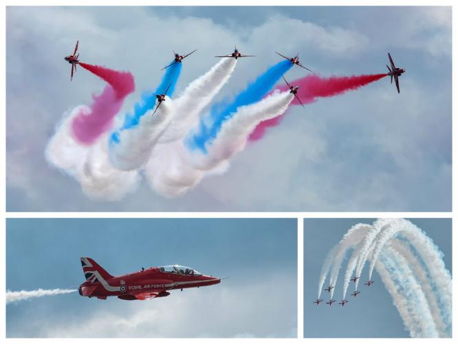 Red Arrows - Chrissie Hart