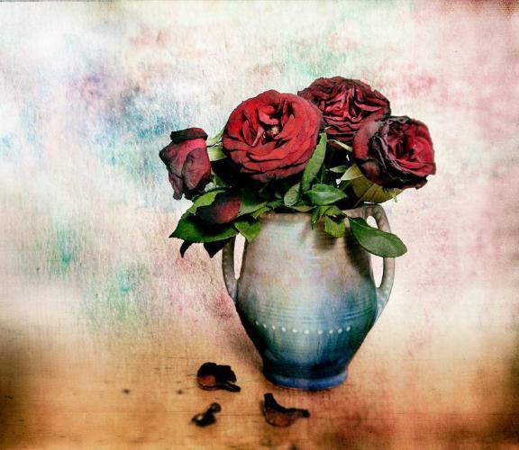 The Blue Vase - Chrissie Hart