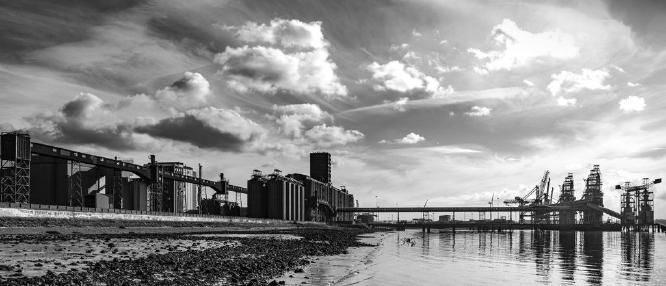 Tilbury grain terminal - riverside - Clifford Sullivan