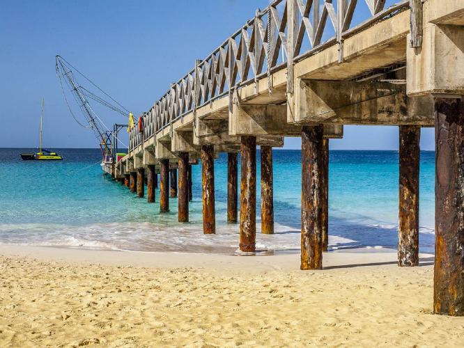 Caribbean Jetty - Colin Dando