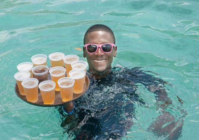 Caribbean Waiter - Colin Dando