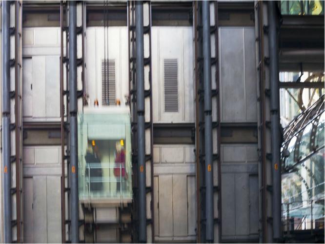 Lloyds Lift - Colin Dando