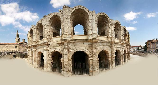 The Arena at Arles - Colin Dando