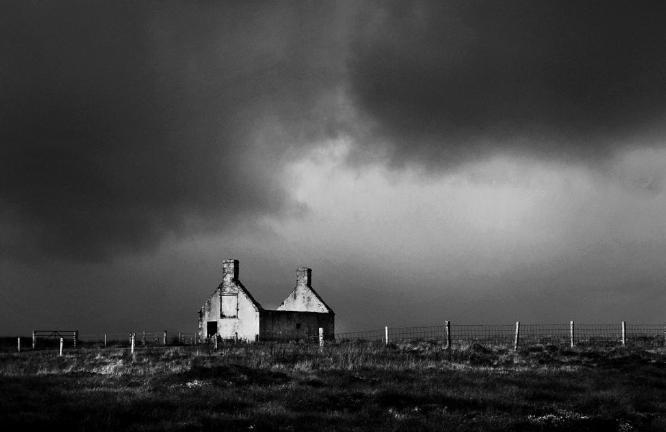 Derelict Croft Durness - Colin Westgate