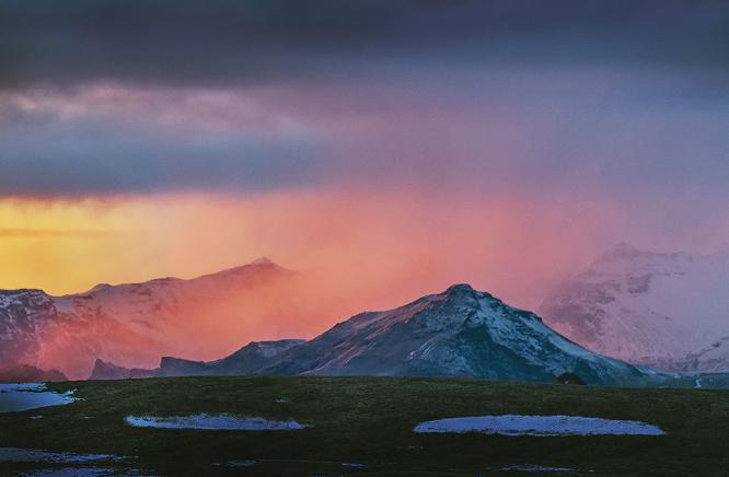 Evening Glow Iceland - Colin Westgate