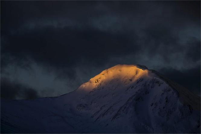 First Light Black Mount Scotland - Colin Westgate
