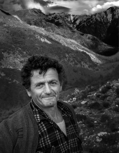 Goat Herdsman Albania - Colin Westgate