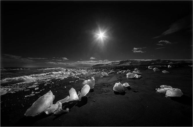 Ice Beach Jokulsarlon - 1 - Colin Westgate
