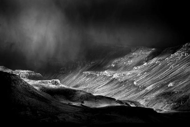 In the Ash Cloud Iceland - Colin Westgate
