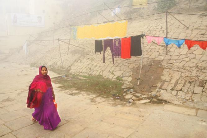 Misty Morning Varanasi - Colin Westgate