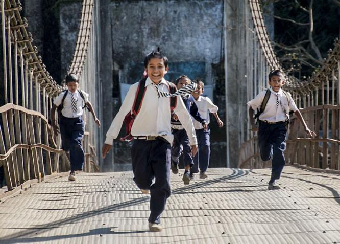 Off to School India - Colin Westgate