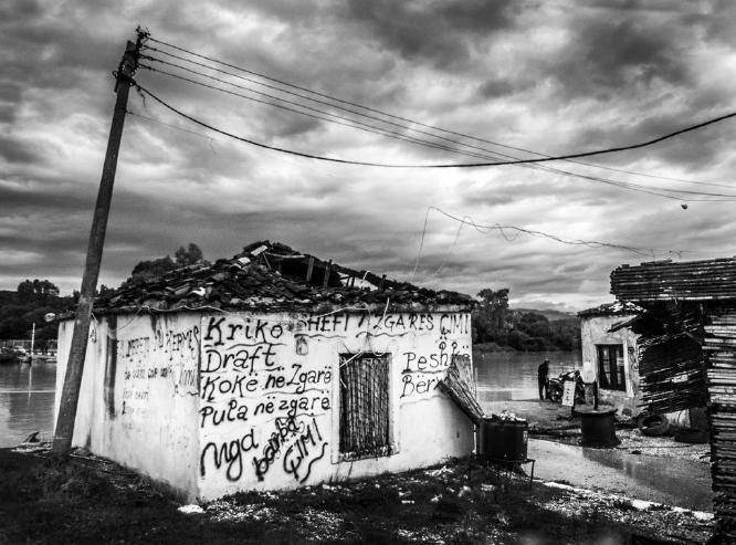 Refreshment Stop Albania - Colin Westgate