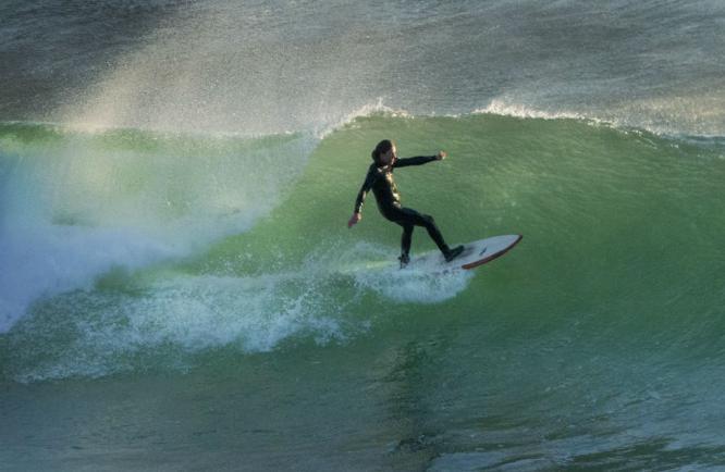 Surfer Clogher Head Ireland - Colin Westgate