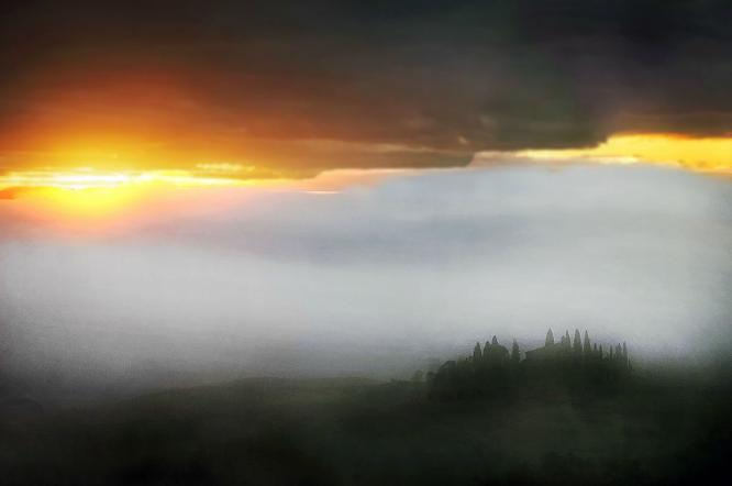 Tuscan Sunrise - Colin Westgate