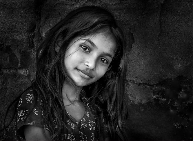 Village Girl Gujarat - Colin Westgate