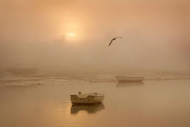 Winter Sunrise Mersea Island - 1 - Colin Westgate