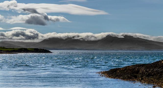 Clouds over the Isle of Rum - David Cross