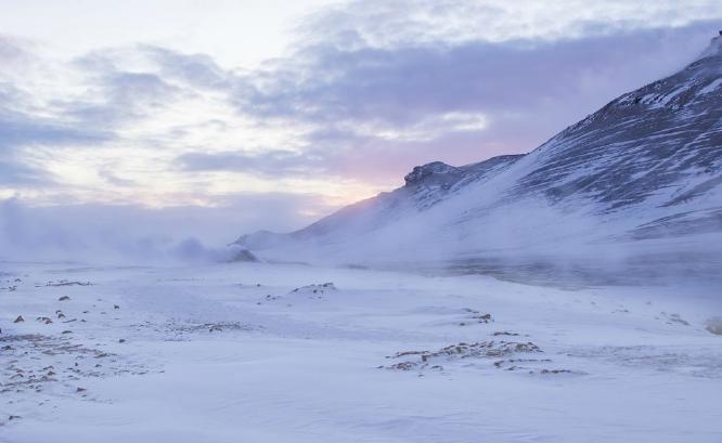 Icelands hostile environment - David Egerton