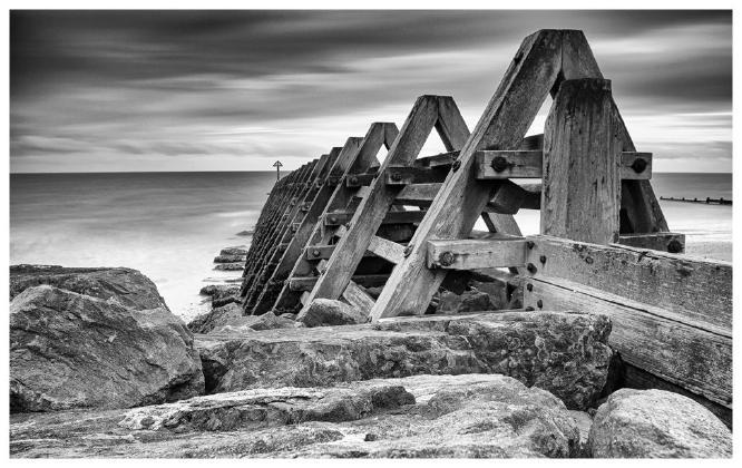 Sea Defence Groyne ~ Walton - David Egerton