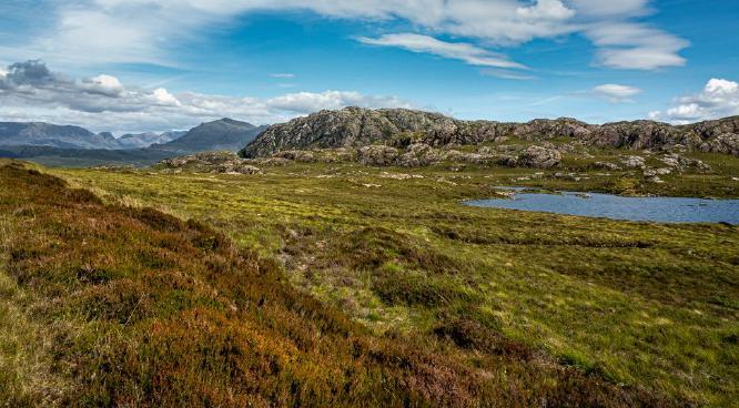 By Loch Tollaidh - Jan Cross