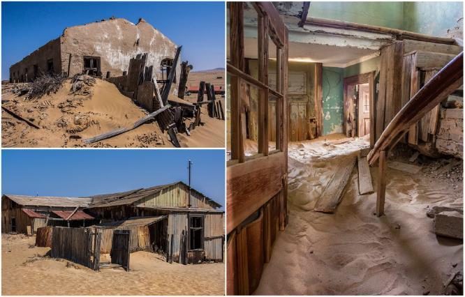 The Desert Ghost Town - Jan Cross