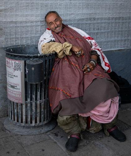 Homeless But Still Smiling - Jennifer Brett