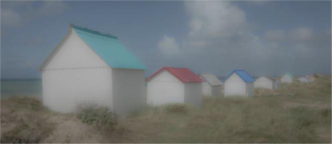 Huts in the dunes - Jennifer Brett