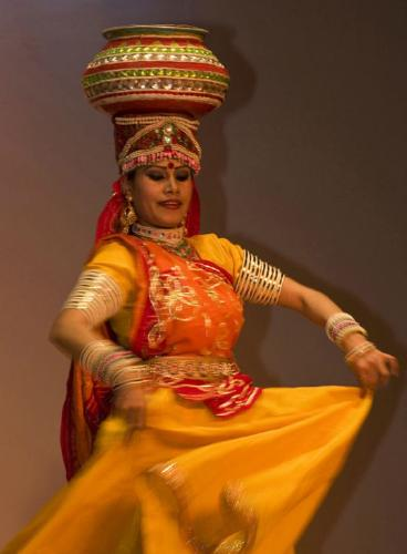 Indian Dancer - John Yateman
