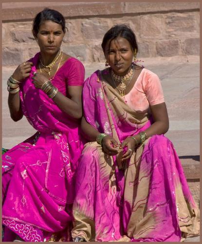 Jodhpur ladies - John Yateman