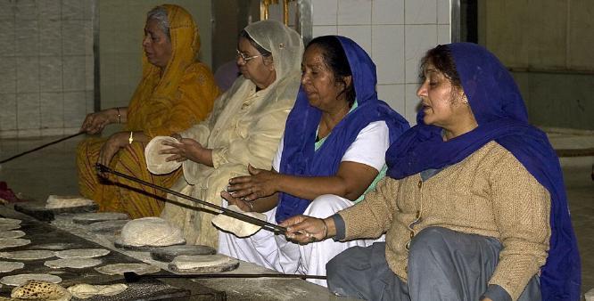 Sikh Temple Kitchen - John Yateman